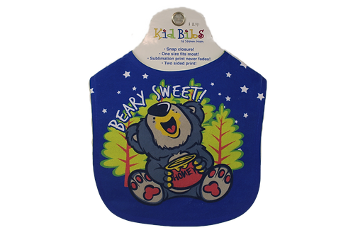 Beary Sweet Baby Bib by Stephen Joseph