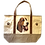 Bassett Hound Dog Canvas Tote Bag, by E&S Pets
