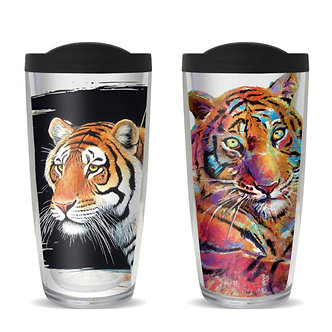 Tiger Thermal Insulated Tumbler Cups