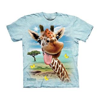 """""""Giraffe Selfie"""" Youth T-Shirt by The Mountain"""