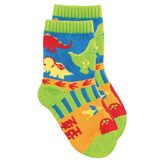 T-Rex Dinosaur Toddler Socks by Stephen Joseph