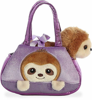 Fancy Pals Sloth Peek-A-Boo Purse