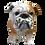 Bulldog Dog Figurine by Melrose