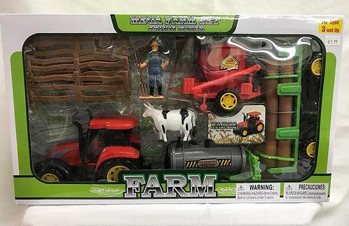 Mega Farm Tractor Play Set