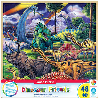 48 Piece DinosaurFriends Jigsaw Puzzle by MasterPieces