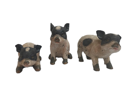 Small Pig Figurine by Gerson