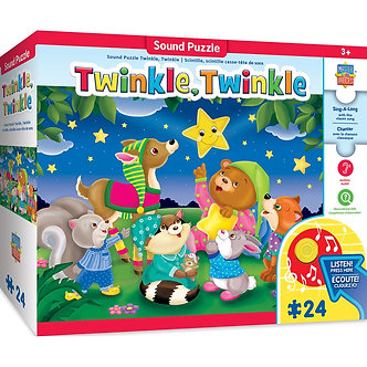 24 Piece Sing-A-Long Twinkle, Twinkle Sound Floor Puzzle