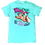 """""""Don't Hurry, Be Happy"""" Sloth Adult T-Shirt by Girlie Girl Originals"""