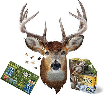 550 Piece I Am Buck Jigsaw Puzzle by Madd Capp Puzzles