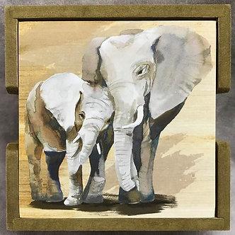 Elephant Coasters by Ganz