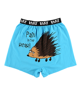 """""""Pain in the Rear""""Lazy One Men's Boxers"""
