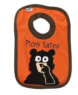 Picky Eater Bear Bib by Lazy One