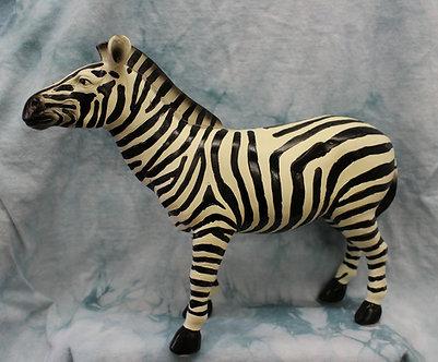 Large Zebra Figurine