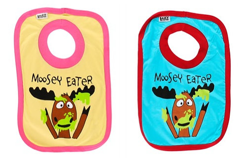 Moosey Eater Moose Bib by Lazy One
