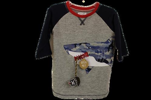 Shark Shirt by Mudpie