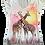 Giraffe V-Neck Shirt by Sweet Gisele