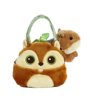 Fancy Pals Bright Eyes Chipmunk Purse