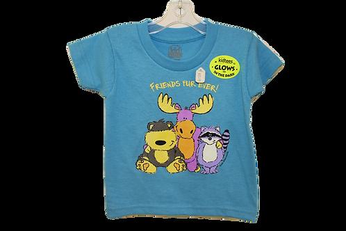 """Friends Fur Ever"" Baby T-Shirt by Stephen Joseph"
