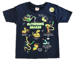 Snake Snap-On T-Shirt by WildThings