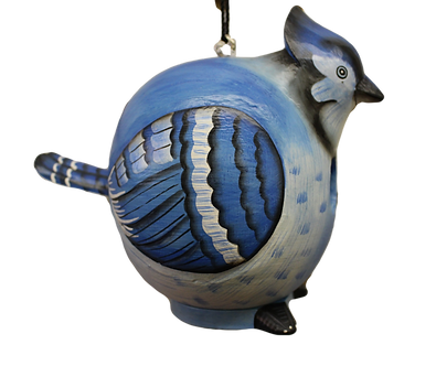 Large Blue Jay Birdhouse