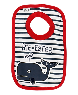 Big Eater Whale Bib by Lazy One