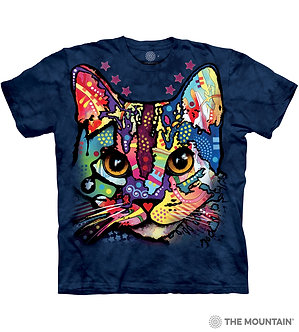 """""""Patches The Cat"""" Adult T-Shirt by The Mountain"""