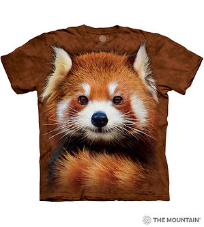 """Red Panda Portrait"" Adult T-Shirt by The Mountain"