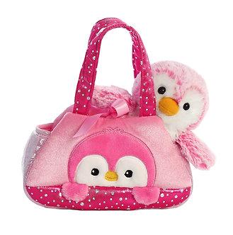 Fancy Pals Pink Penguin Peek-A-Boo Purse