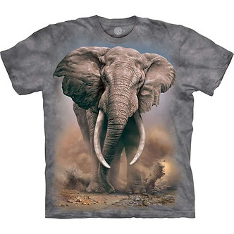 African Elephant Adult T-Shirt by The Mountain