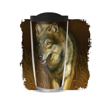 Wolf Thermal Insulated Tumbler Cups