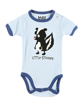 Little Stinker Baby Onesie by Lazy One
