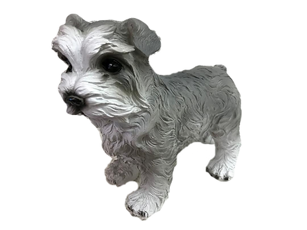 Schnauzer Dog Figurine by Melrose