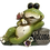Buggy Eye Frog Welcome Sign Figurine by Gerson