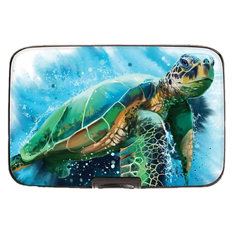 Sea Turtle Armored Wallet by Monarque