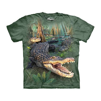 """Gator Parade"" Alligator Youth T-Shirt by The Mountain"