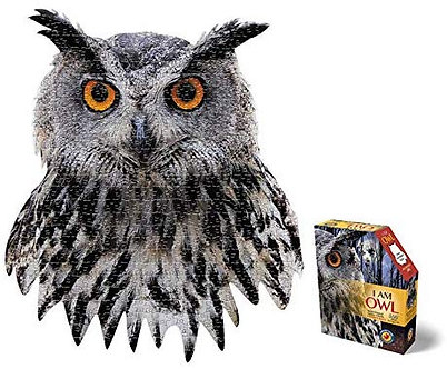 550 Piece I Am Owl Jigsaw Puzzle by Madd Capp Puzzles