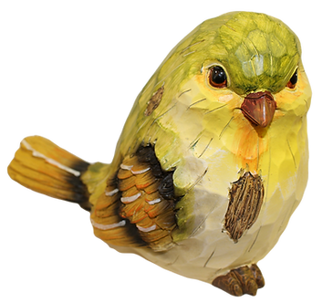 Large Yellow Warbler Bird Figurine by Gerson