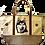 Husky Dog Canvas Tote Bag, by E&S Pets