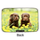 Chocolate Lab Puppies Armored Wallet by Monarque