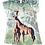 Giraffe V-Neck Shirt by Sunshirt