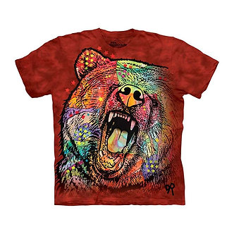 """""""Russo Bear"""" Adult T-Shirt by The Mountain"""
