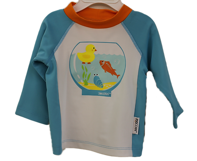 Fish and Duck Swimshirt by Zoocchini