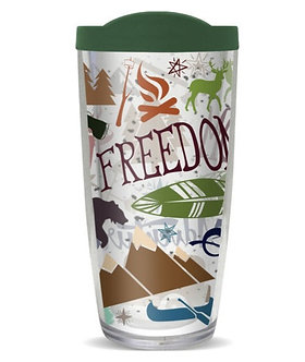 Camping Life Freedom Black Bear Thermal Insulated Tumbler Cups