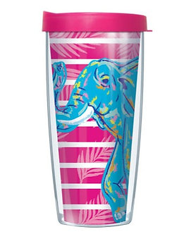 Blue Elephant Thermal Insulated Tumbler Cups