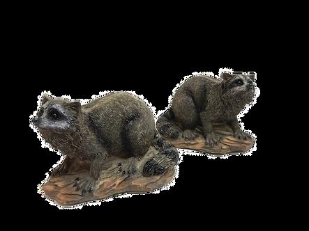 Small Raccoon Figurine by Lipco