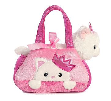 Fancy Pals Princess Kitten Peek-A-Boo Purse