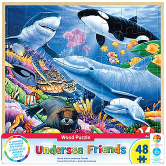 48 Piece Undersea Friends Jigsaw Puzzle by MasterPieces
