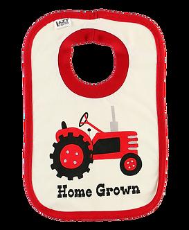 Home Grown Farm Tractor Bib by Lazy One