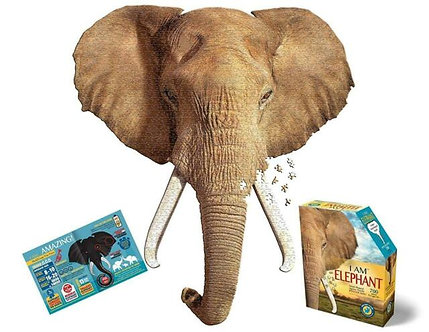 700 Piece I Am Elephant Jigsaw Puzzle by Madd Capp Puzzles