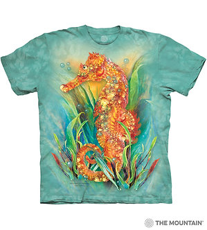 Seahorse Adult T-Shirt by The Mountain